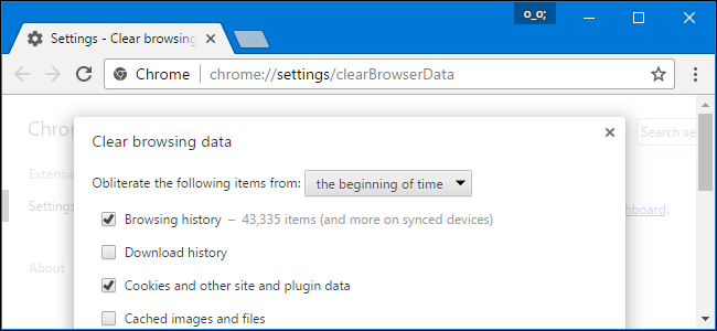 Clear Browser Caches
