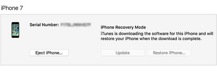 iTunes downloading software gets stuck