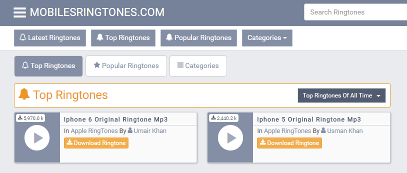 download ringtone incoming call iphone