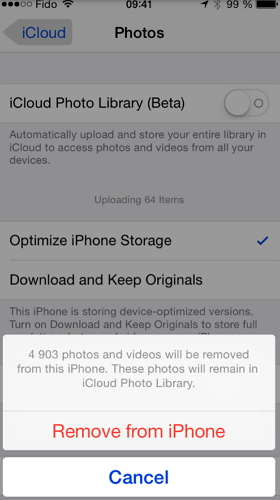 How to Fix iCloud Photo Library Stuck in Uploading Photos