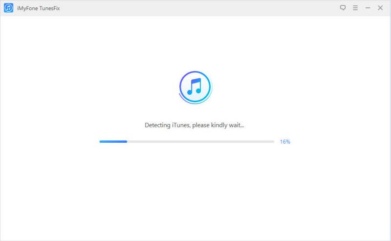iMyFone TunesFix screenshot