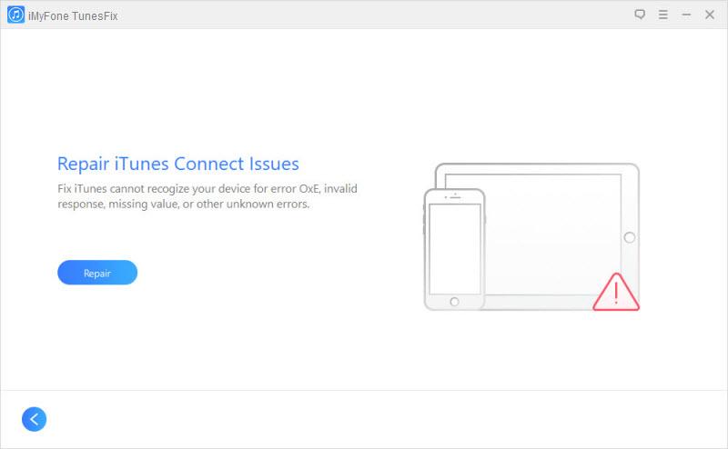 TunesFix screenshot