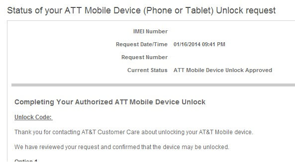 can i unlock an at&t phone for t mobile