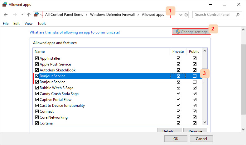 Configure Your System Firewall on Windows 7