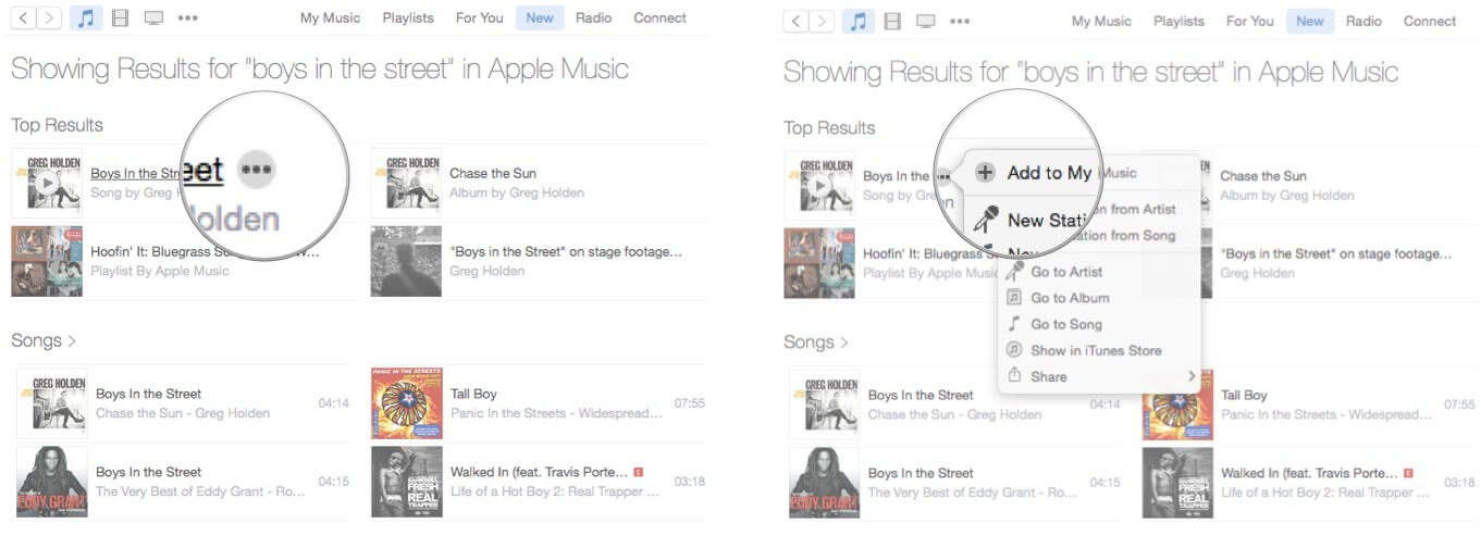 add song to icloud music library mac