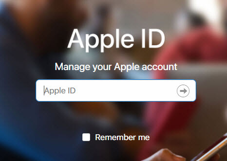 manage apple id