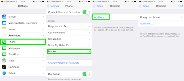 blocked number iphone best way to block a number on iphone for everyone 5830