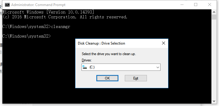 Run Disk Cleanup