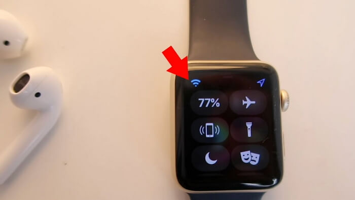connnect apple watch to wifi
