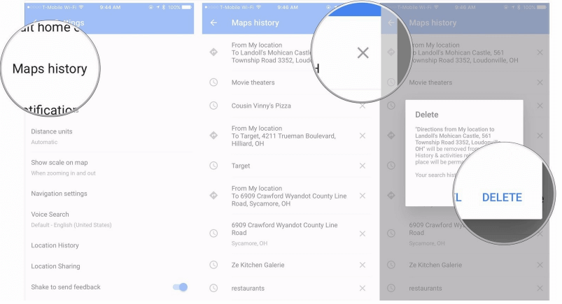 How to Clear Map History on iPhone? Learn the Best Way! Clear Google Map History on