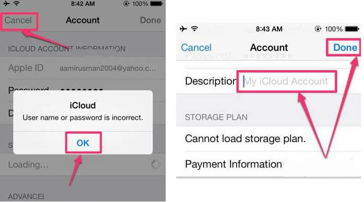 remove icloud without password