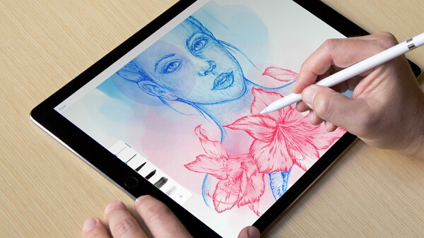 best apple pencil app adobe photoshop sketch