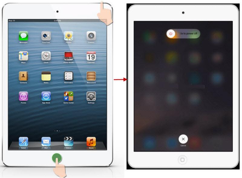 Force Restart Your iPad
