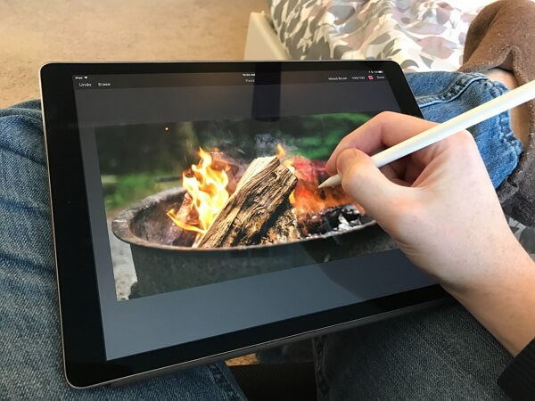best apple pencil app pixelmator