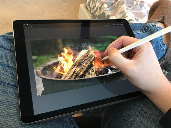 best apple pencil app pixelmator