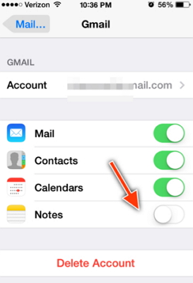 transfer-notes-from-iphone-to-gmail
