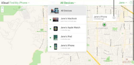 find device from list