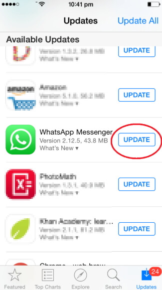 update-whatsapp-iphone