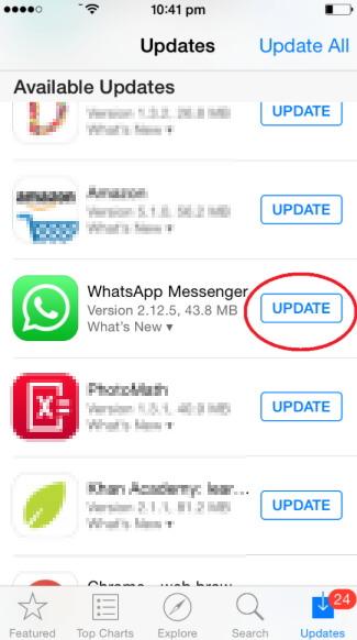 update-whatsapp-iphone