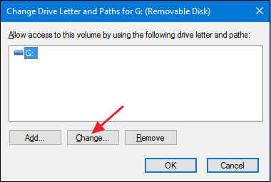 assign a new drive letter