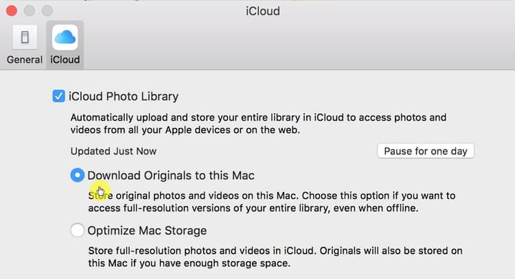 الأصلية لهذا الـ Mac