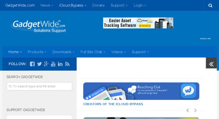 gadgewide bypass tool