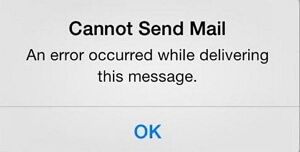 cannot send mail