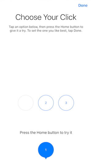iPhone 8 home button intensity