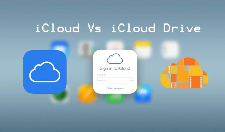 icloud vs icloud drive