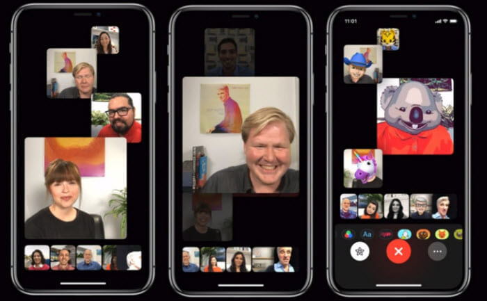 iOS 12 FaceTime Group Calling