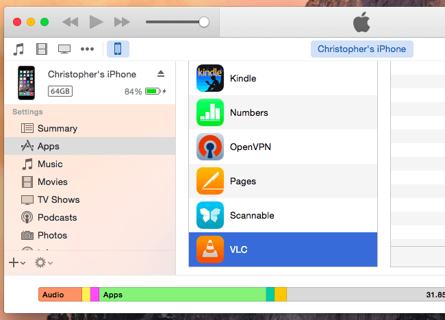 Update Apps Using iTunes