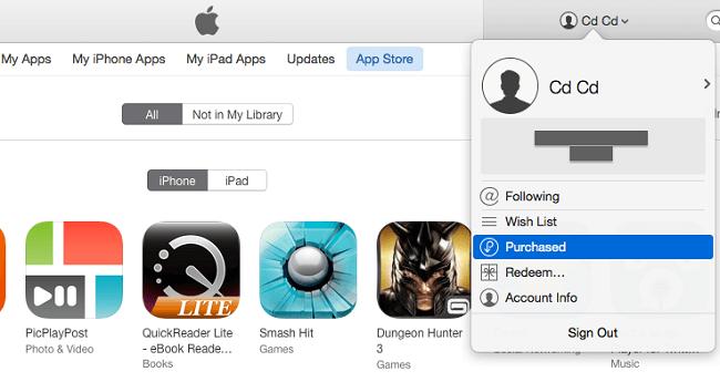 delete app history