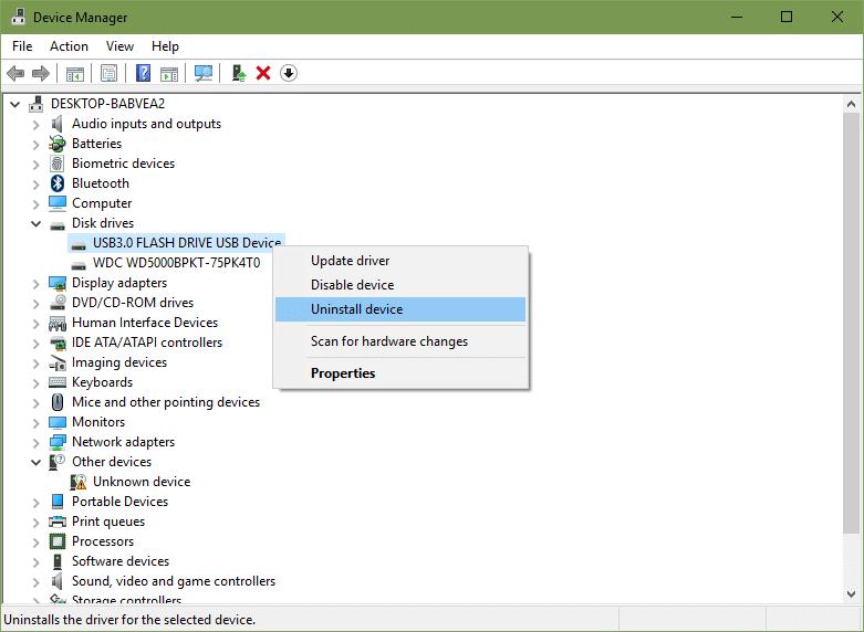 reinstall disk drive