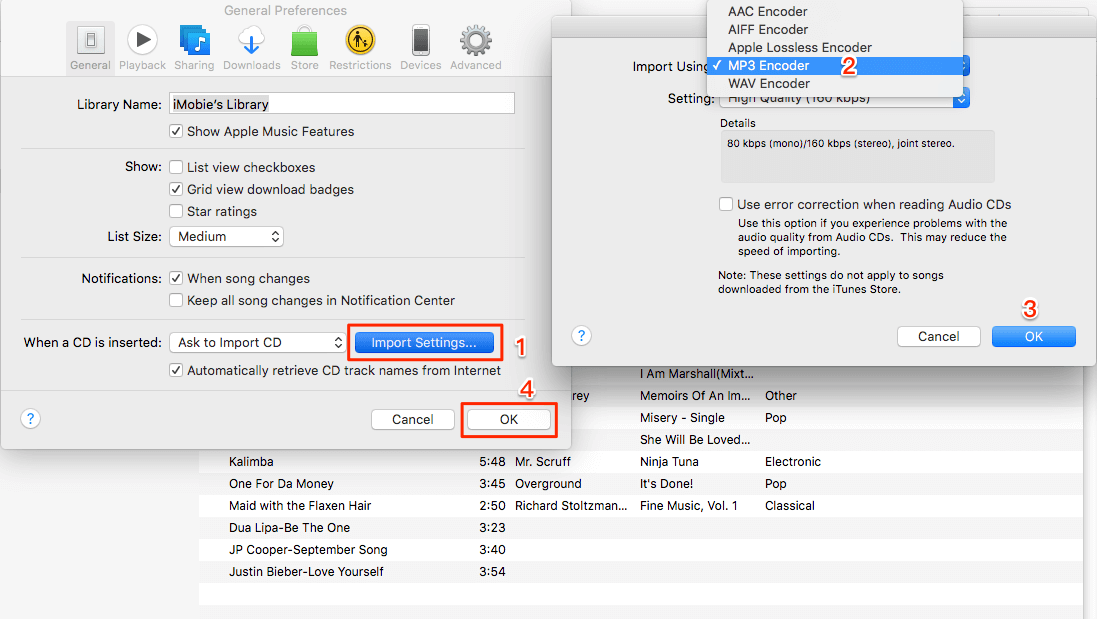 convert iTunes music to mp3