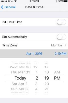 set-correct-time