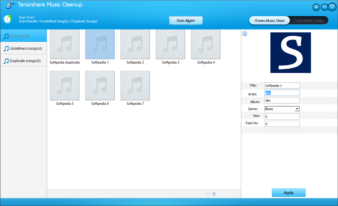 Tenorshare Music Cleanup Mac