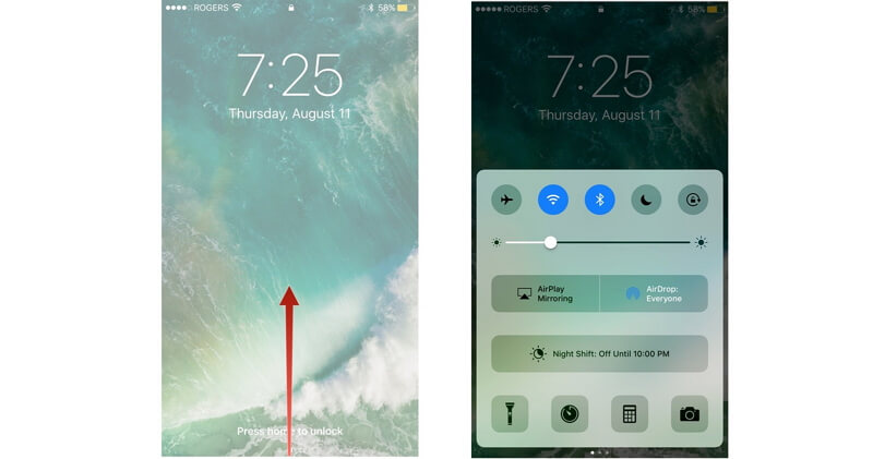 Control Center Won't Swipe Up after iOS 12, How to Fix?