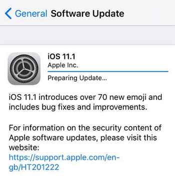 iOS 12 Update Stuck on Preparing Update? Check 5 Tips Here