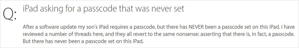 ipad ask for password case