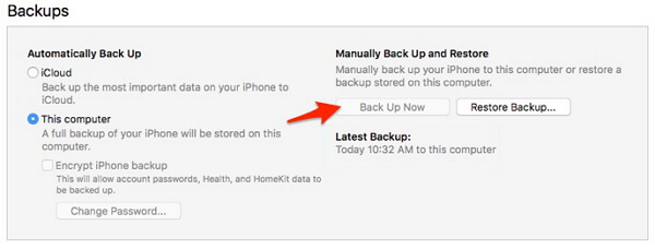 itunes-backup-now-greyed-out