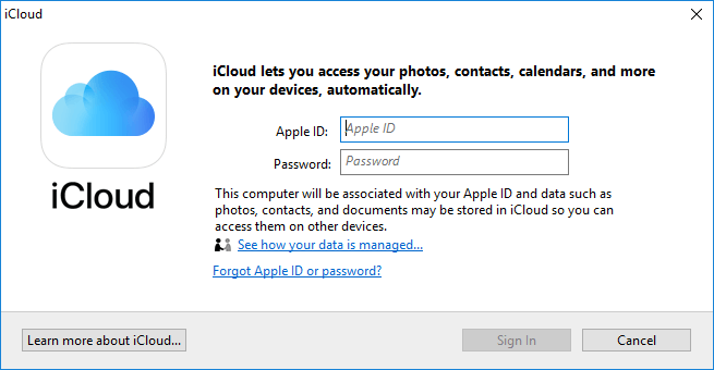 Re-Sign In Your iCloud Account