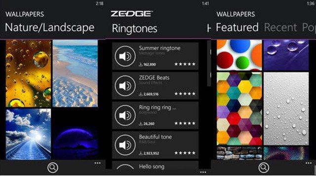 download Zedge ringtones to iPhone