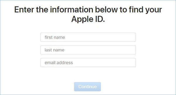 enter-info-to-find-apple-id
