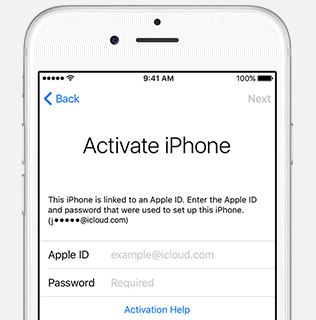 iphone 6s Plus apple id hacken