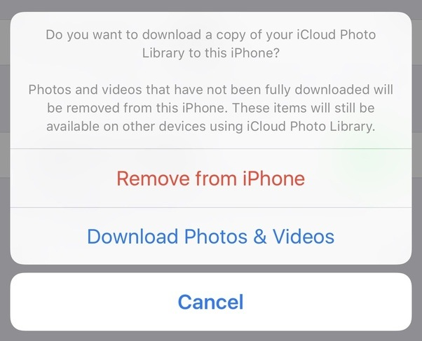 Download the Missing Photos from iCloud's website