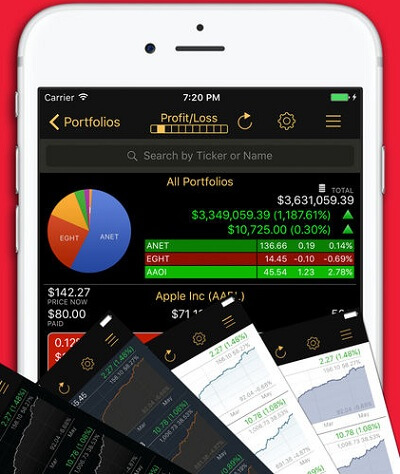 iphone stock tracker