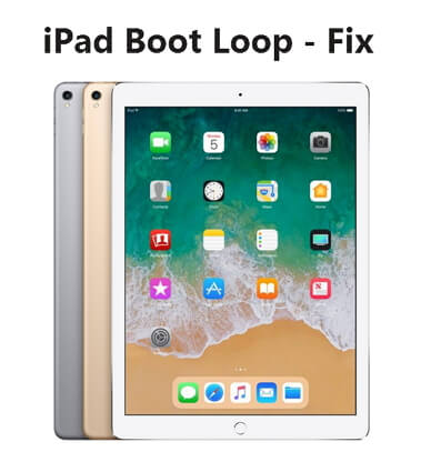 iPad boot loop fix