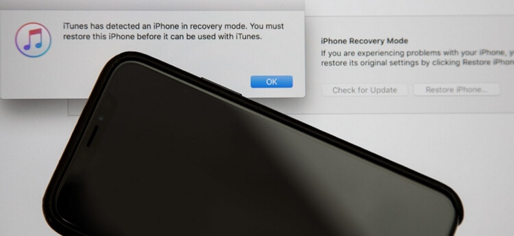 restore iPhone in dfu mode using iTunes