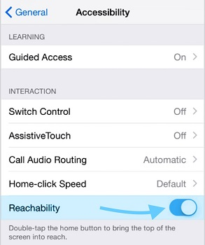 turn reachability off