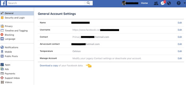 recover-facebook-photo-via-archive-setting